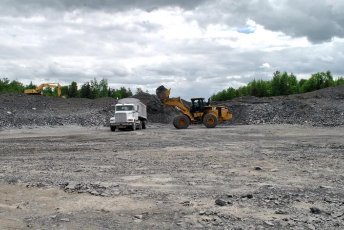Carrière de Galet Excavation McBM
