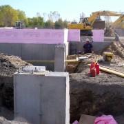 Réalisation McBM - excavation terrassement hôtel Quality Suites